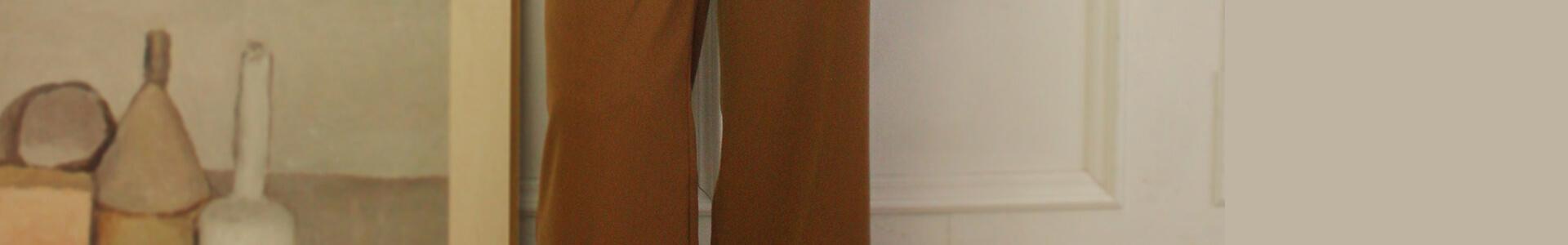 今っぽいバランスが簡単につくれる、ハイウエストワイドパンツの着回しコーデを更新!